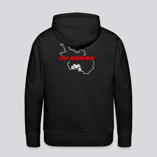 plain logo - Mannen Premium hoodie