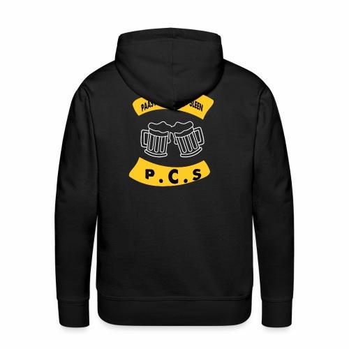 PAASVUUR EN CARBID SLEEN - Mannen Premium hoodie