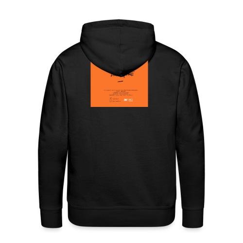 Cover Back delta. plane - Sweat-shirt à capuche Premium pour hommes