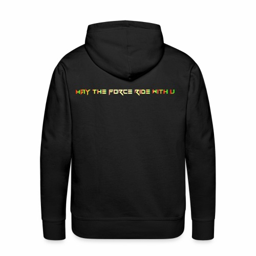 the force - Premium hettegenser for menn