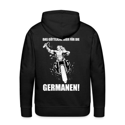 Das göttliche Bier für die Germanen - Männer Premium Hoodie
