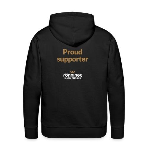 CITAT Proud supporter - Premiumluvtröja herr