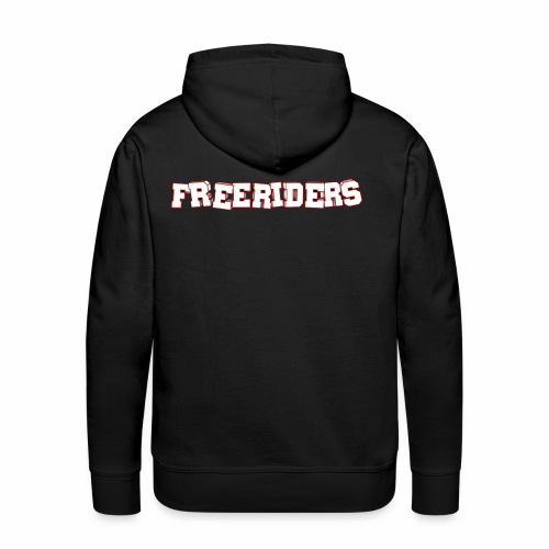 Freeriders - Premium hettegenser for menn