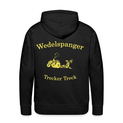 Wedelspanger Trecker Treck - Männer Premium Hoodie