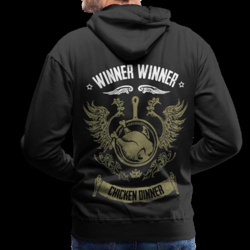 WINNER WINNER CHICKEN DINNER - Männer Premium Hoodie