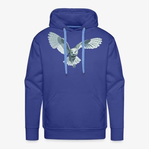 barn owl - Männer Premium Hoodie