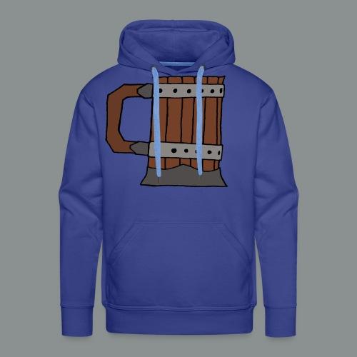 chope, peinte, bière, taverne, geek, jeu de rôle - Sweat-shirt à capuche Premium pour hommes