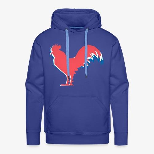 FOOT - Le Coq Français - Sweat-shirt à capuche Premium pour hommes