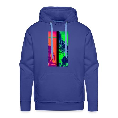 Pop-Art Double Flash Color twist New Neon - Männer Premium Hoodie