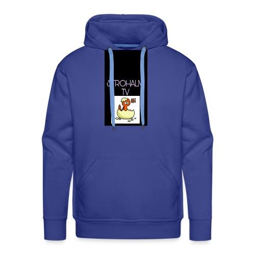 STROHALMTVLOGO - Männer Premium Hoodie