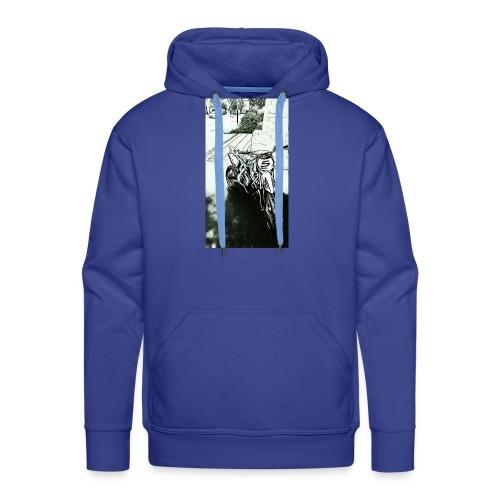 Pocket cross - Sweat-shirt à capuche Premium pour hommes