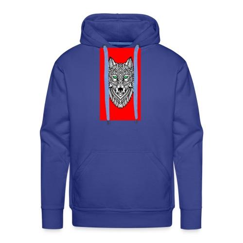 wolf2 - Männer Premium Hoodie