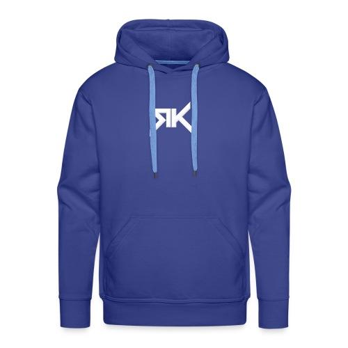 RK - Sweat-shirt à capuche Premium pour hommes