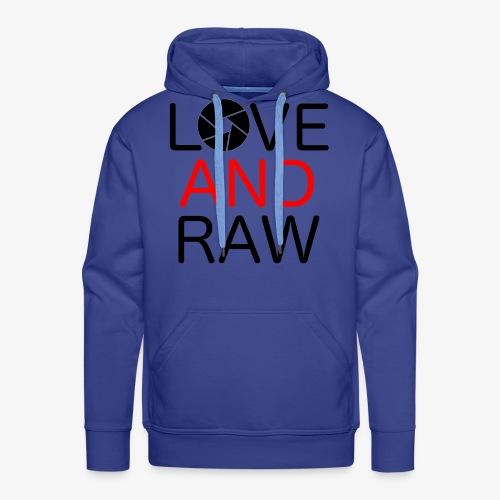 Love Raw - Men's Premium Hoodie