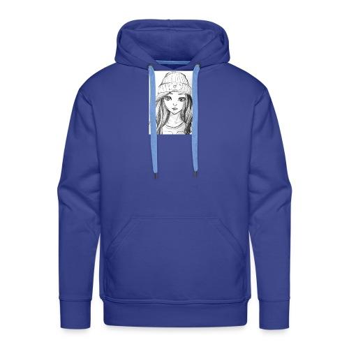 Drawing - Men's Premium Hoodie