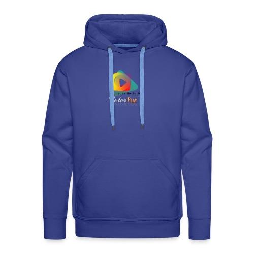 color play - Sudadera con capucha premium para hombre
