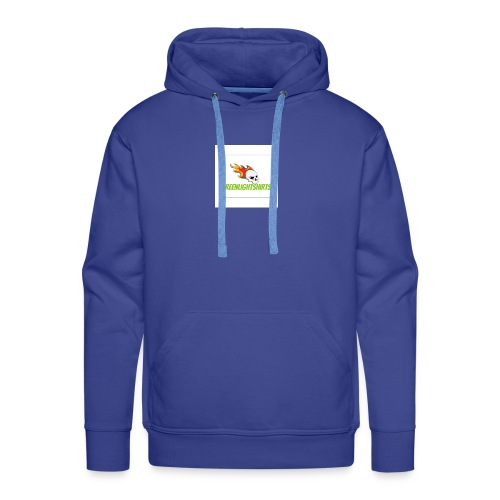 GREEN LIGHT SHIRTS LOGO - Men's Premium Hoodie