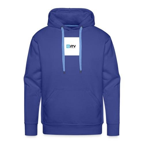 gifTV - Felpa con cappuccio premium da uomo