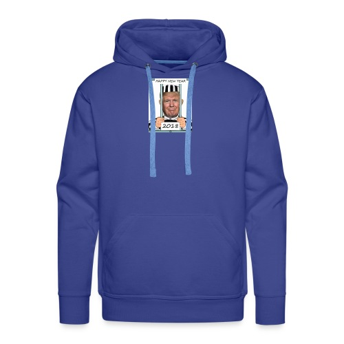 Donald Trump the prisoner 2018 (kleines Design) - Männer Premium Hoodie