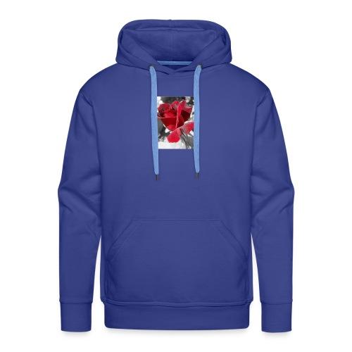 flower - Sudadera con capucha premium para hombre