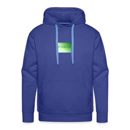 Haekeln Haken - Männer Premium Hoodie