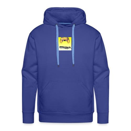 Simbolo canale - Felpa con cappuccio premium da uomo