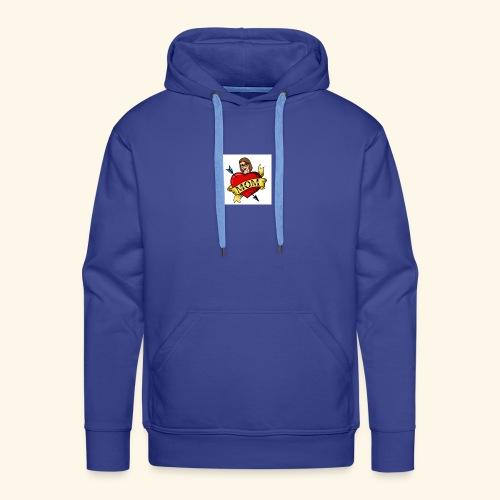 I love you MOM - Sweat-shirt à capuche Premium pour hommes