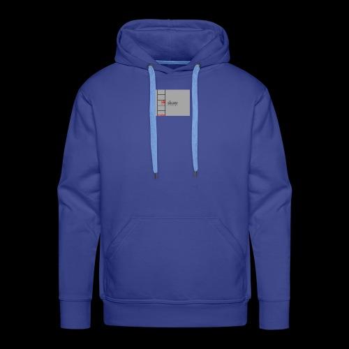 freez logo - Sweat-shirt à capuche Premium pour hommes