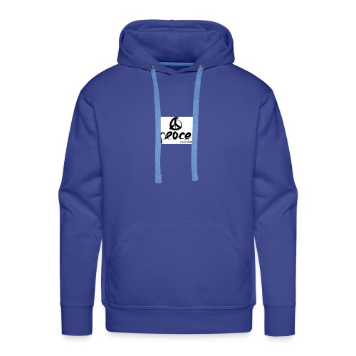 Peace-therapy-recordzz-mode - Männer Premium Hoodie