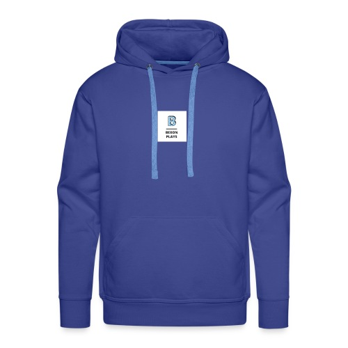 Bexon plays logo - Men's Premium Hoodie