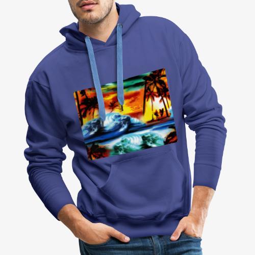 Été indien - Sweat-shirt à capuche Premium pour hommes