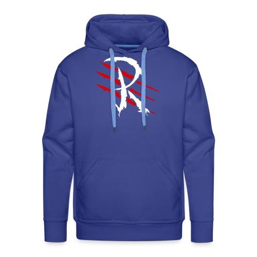 Raptayn Logo White - Männer Premium Hoodie