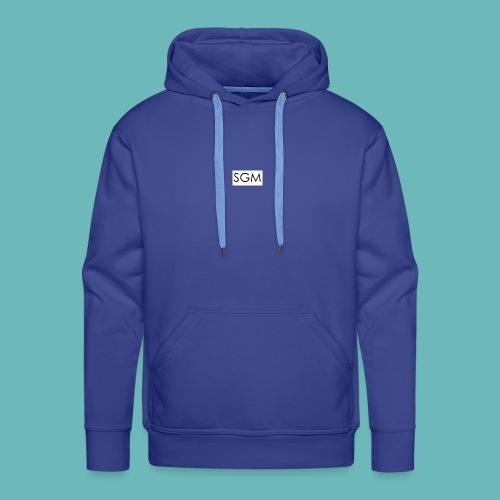 sgm - Sweat-shirt à capuche Premium pour hommes