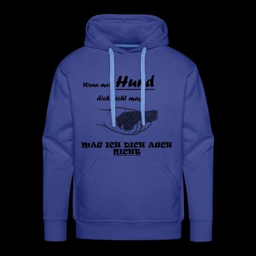 Hundeliebhaber T-shirt - Männer Premium Hoodie