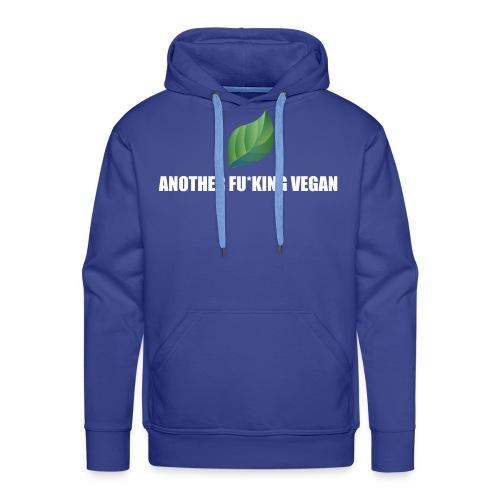 Vegan Lustig Style Lifestyle Umwelt Öko Tierschutz - Männer Premium Hoodie