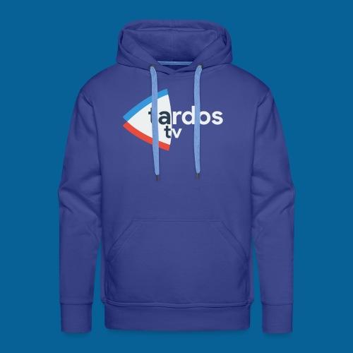 Tardos TV Logo version 2 - Sweat-shirt à capuche Premium pour hommes