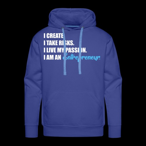 Entrepreneur | Finanzielle Freiheit | Passion - Männer Premium Hoodie