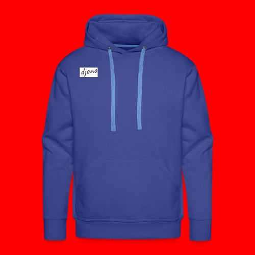 Djono logo - Mannen Premium hoodie