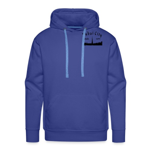 design based on on a place called Dubai. - Men's Premium Hoodie