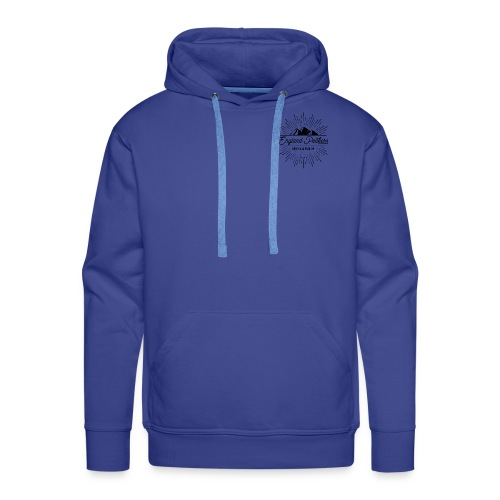 EnglandPeakers black logo - Men's Premium Hoodie