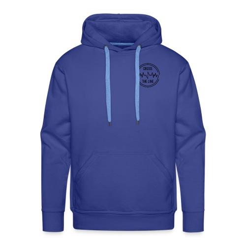 CROSS THE LINE - Sweat-shirt à capuche Premium pour hommes