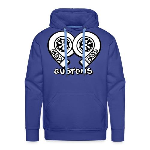 cbp logo - Sweat-shirt à capuche Premium pour hommes