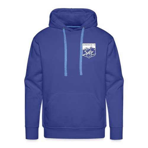 Arbroath Ski Club Logo White - Men's Premium Hoodie