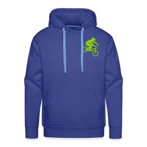 Bmx Rider One colour - Mannen Premium hoodie