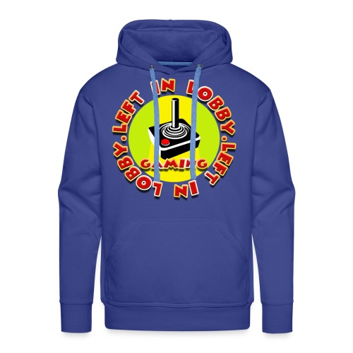 Left In Lobby Gaming - Men's Premium Hoodie