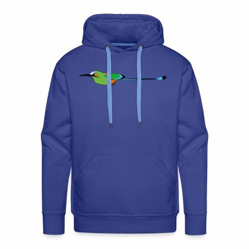 Turquoise-Browed Motmot (Torogoz/Guardabarranco) - Men's Premium Hoodie