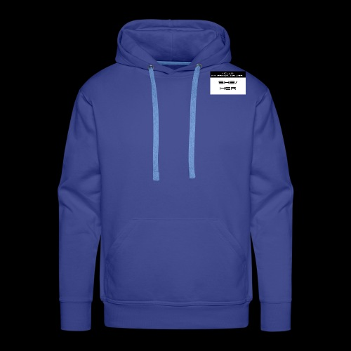 My Pronouns are She/Her - Männer Premium Hoodie