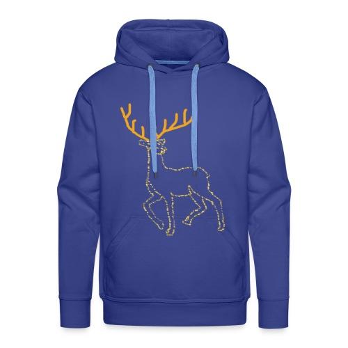 Reindeer print clothes | Gift for Christmas | Jul - Herre Premium hættetrøje