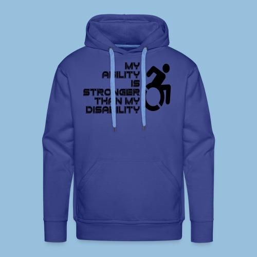Ability1 - Mannen Premium hoodie