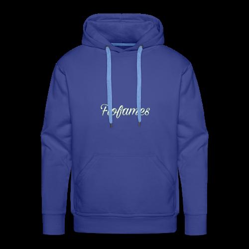 camicia di flofames - Felpa con cappuccio premium da uomo